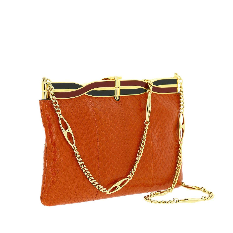 Shoulder bag women Gucci orange 2