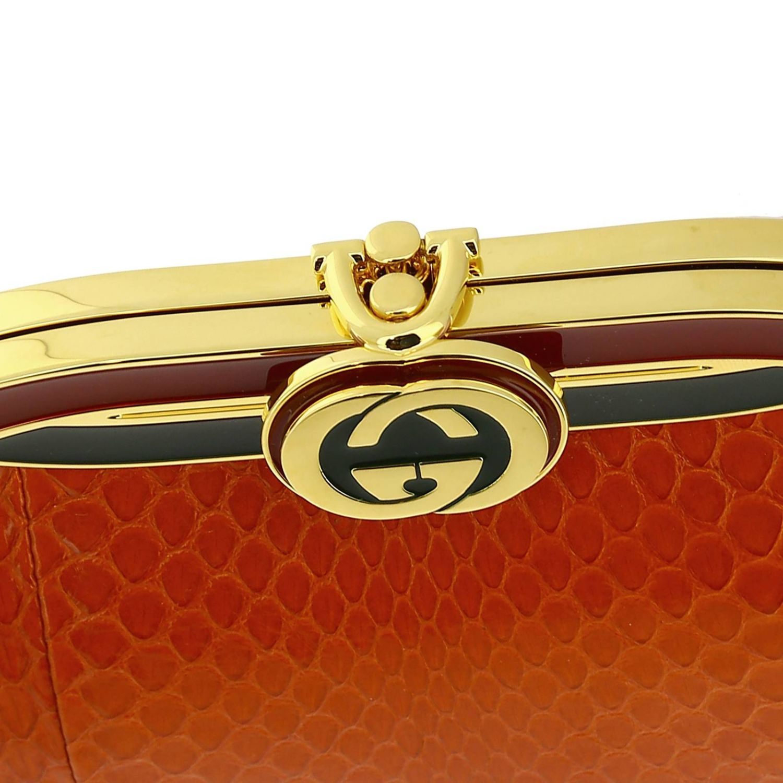 Shoulder bag women Gucci orange 3