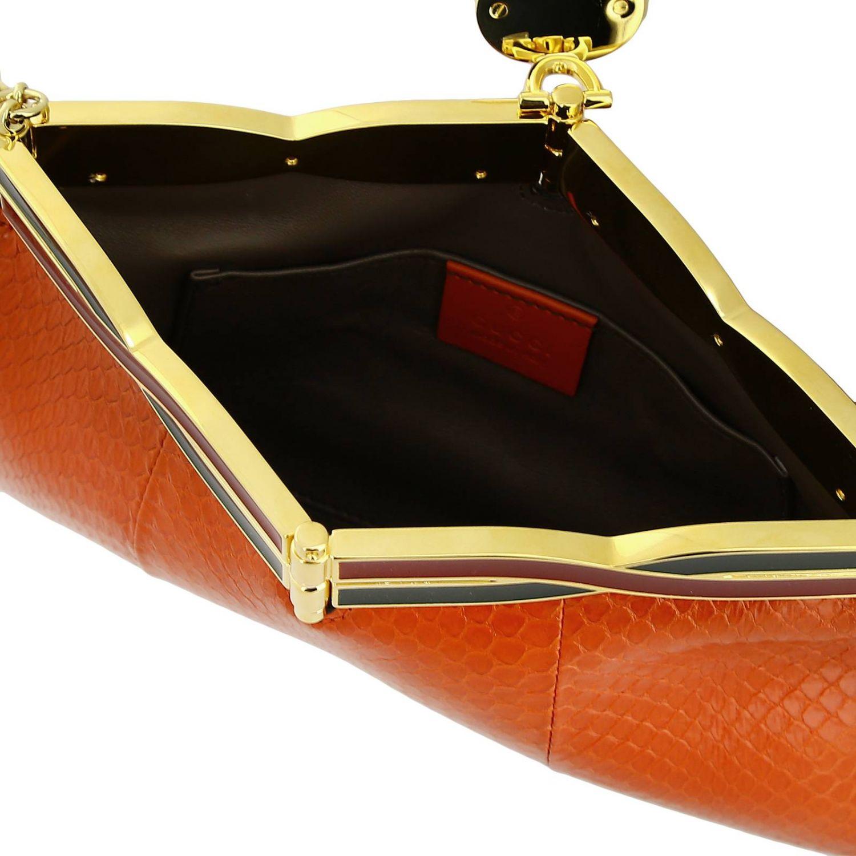 Shoulder bag women Gucci orange 4