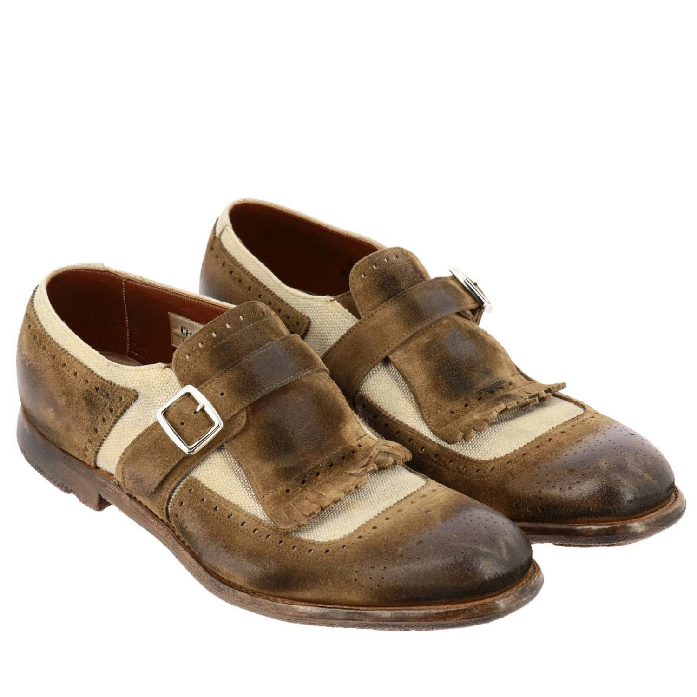 Shoes men Church's brown 2