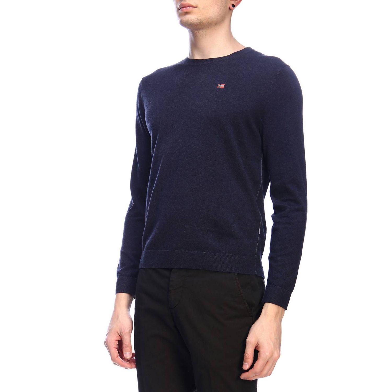 Sweater men Napapijri blue 2