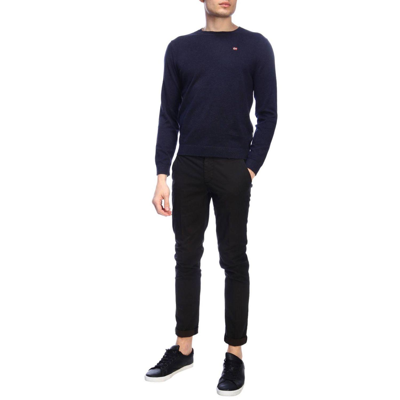 Sweater men Napapijri blue 4