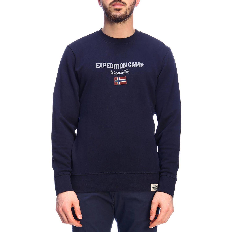 Pullover herren Napapijri blau 1