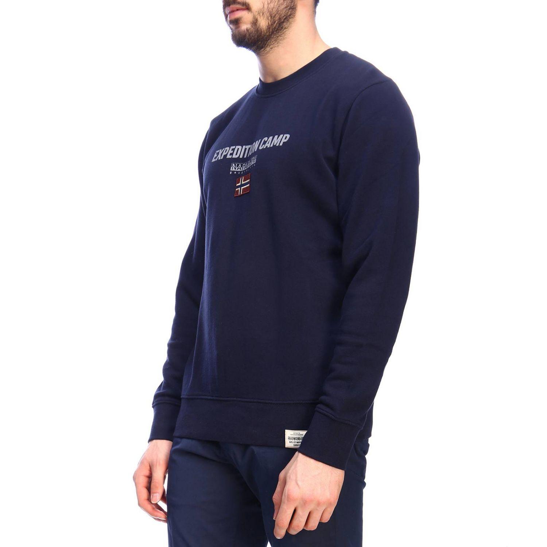 Pullover herren Napapijri blau 2