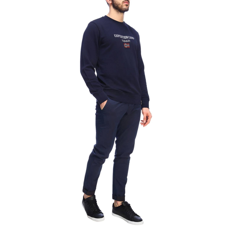 Pullover herren Napapijri blau 4