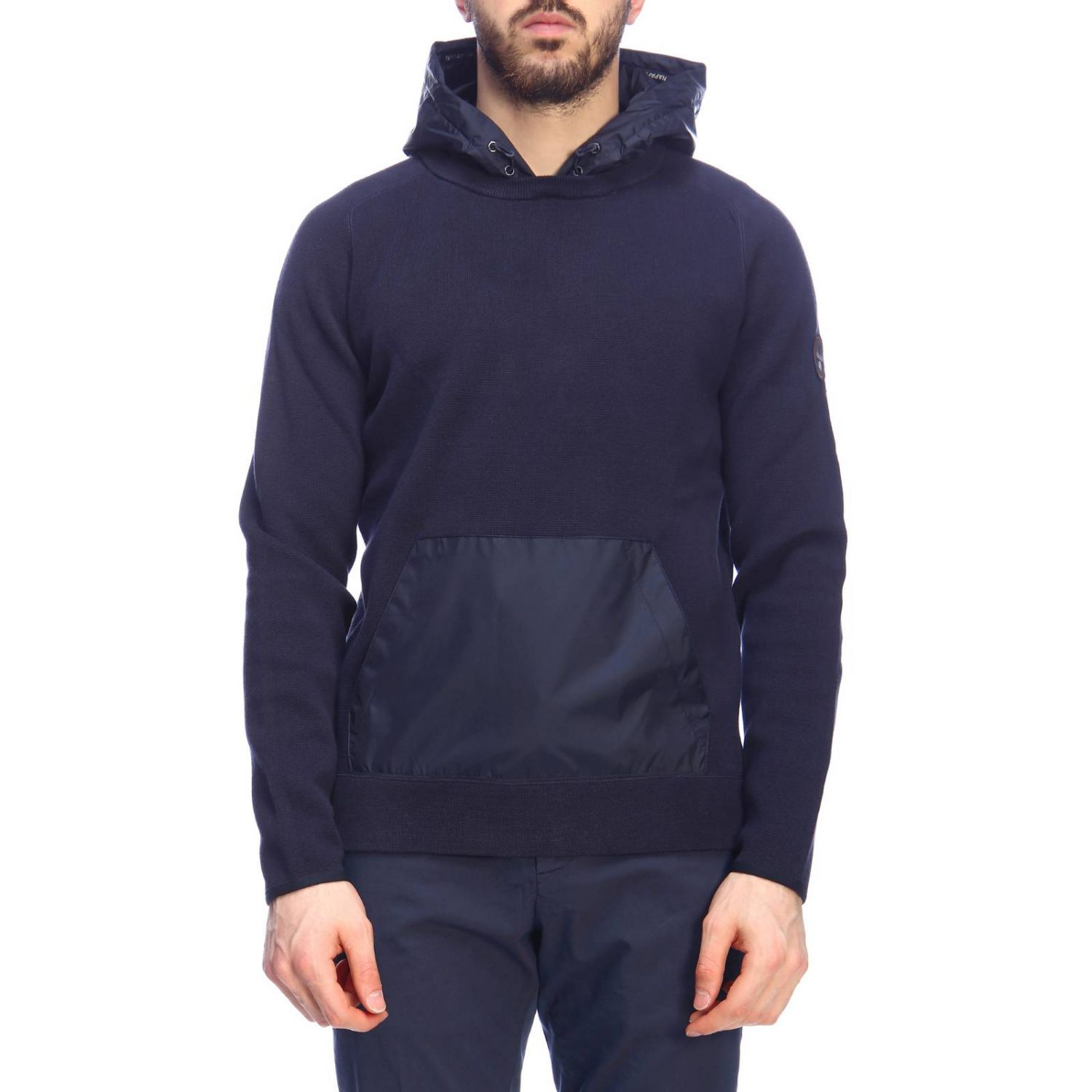 Sweater men Napapijri blue 1