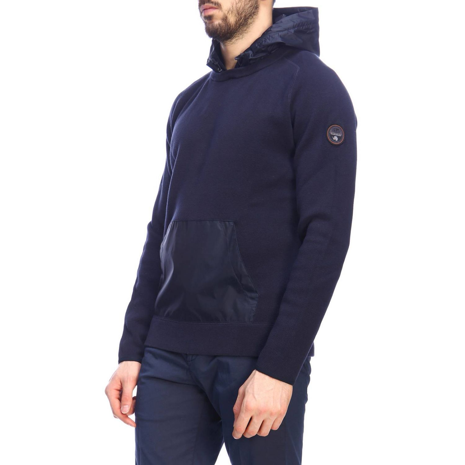 Sweater men Napapijri blue 2