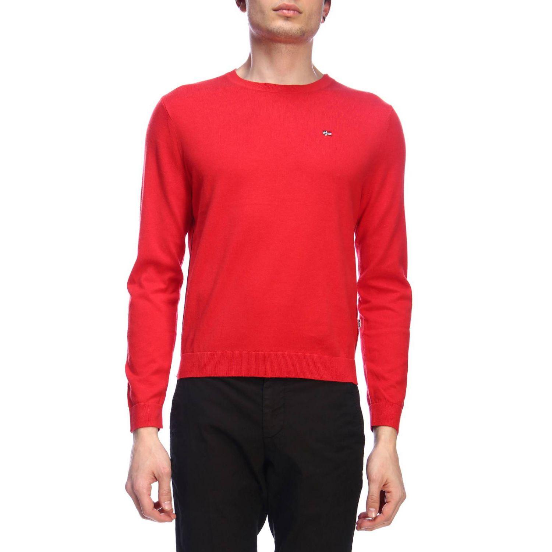 Pullover herren Napapijri rot 1