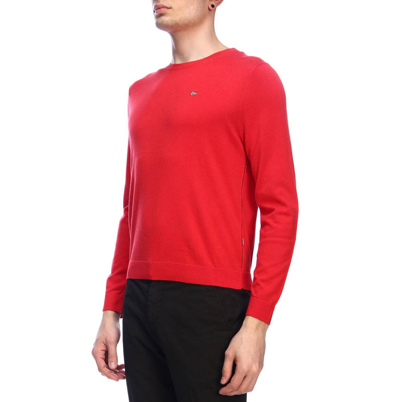 Pullover herren Napapijri rot 2