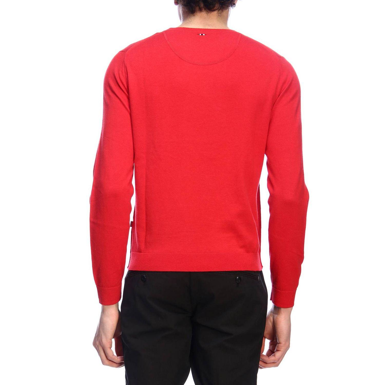 Pullover herren Napapijri rot 3