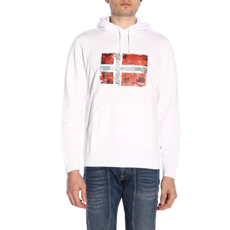 Pullover herren Napapijri weiß 1