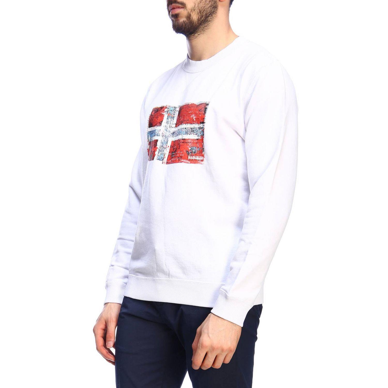 Pullover herren Napapijri weiß 2