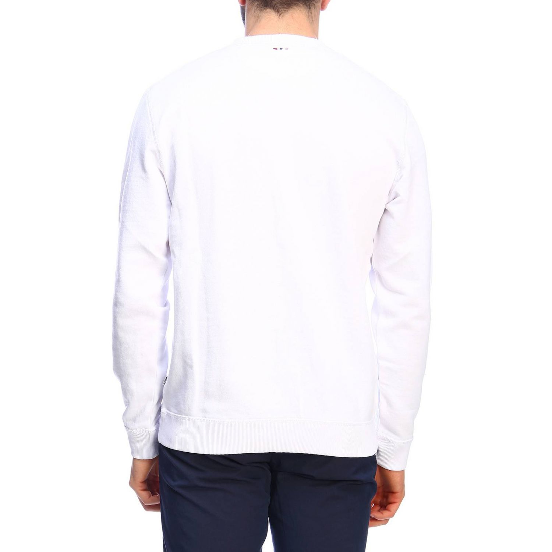 Pullover herren Napapijri weiß 3
