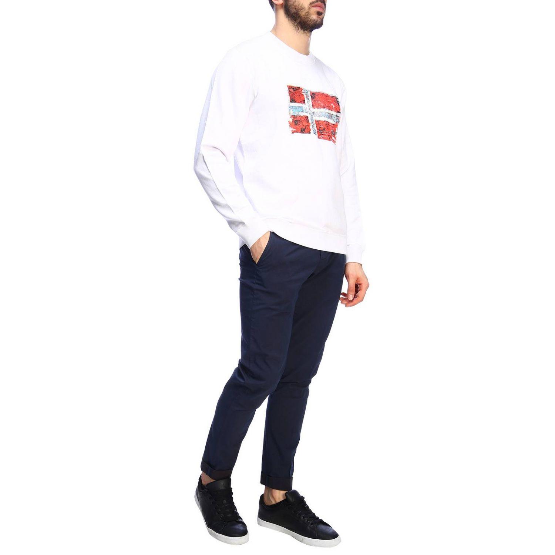 Pullover herren Napapijri weiß 4