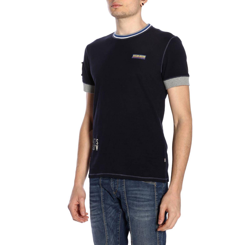 T-shirt men Napapijri blue 2