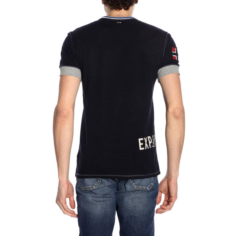 T-shirt men Napapijri blue 3