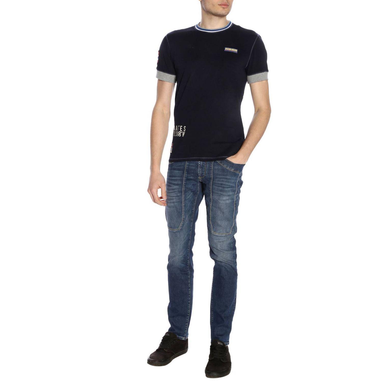T-shirt men Napapijri blue 4