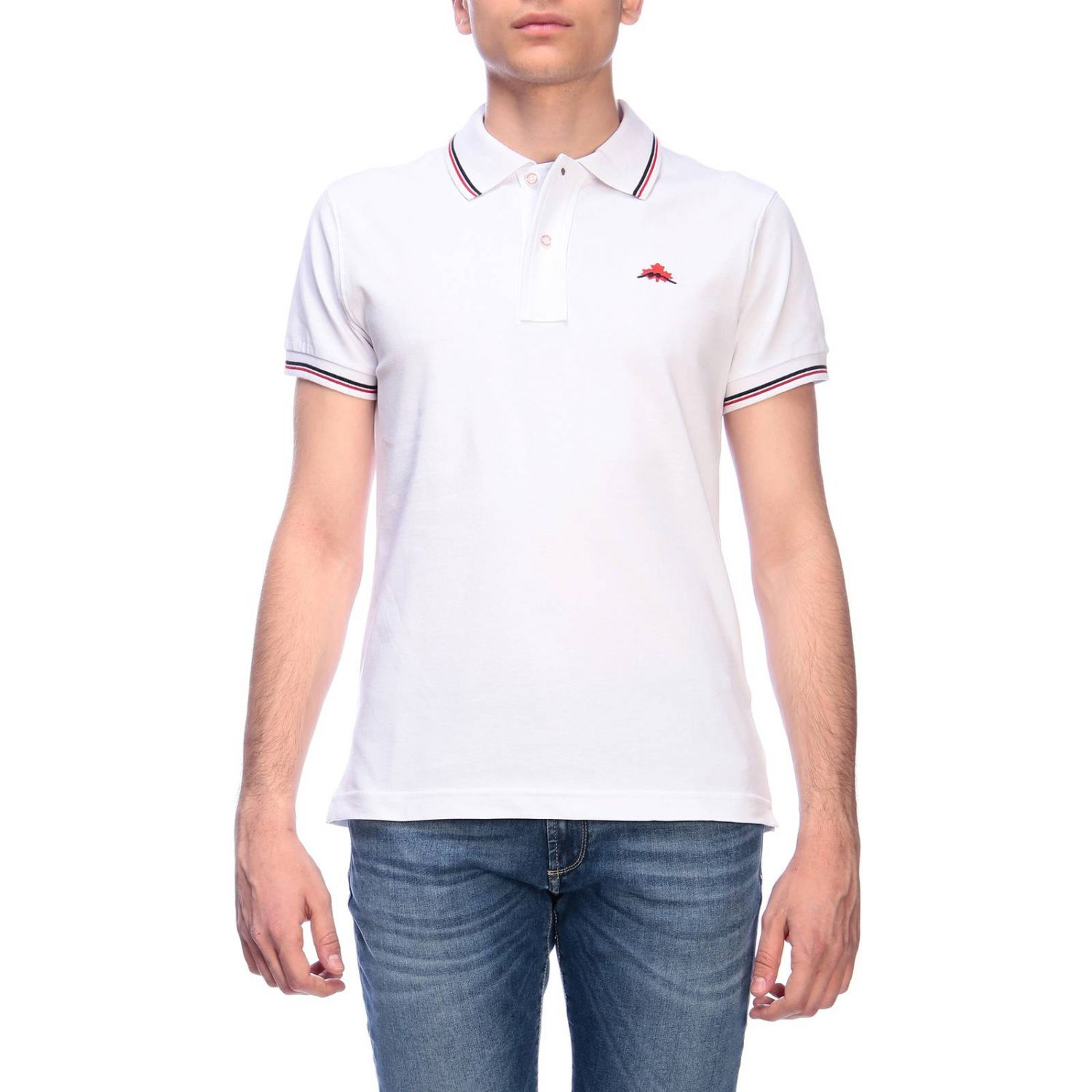 T-shirt men Museum white 1