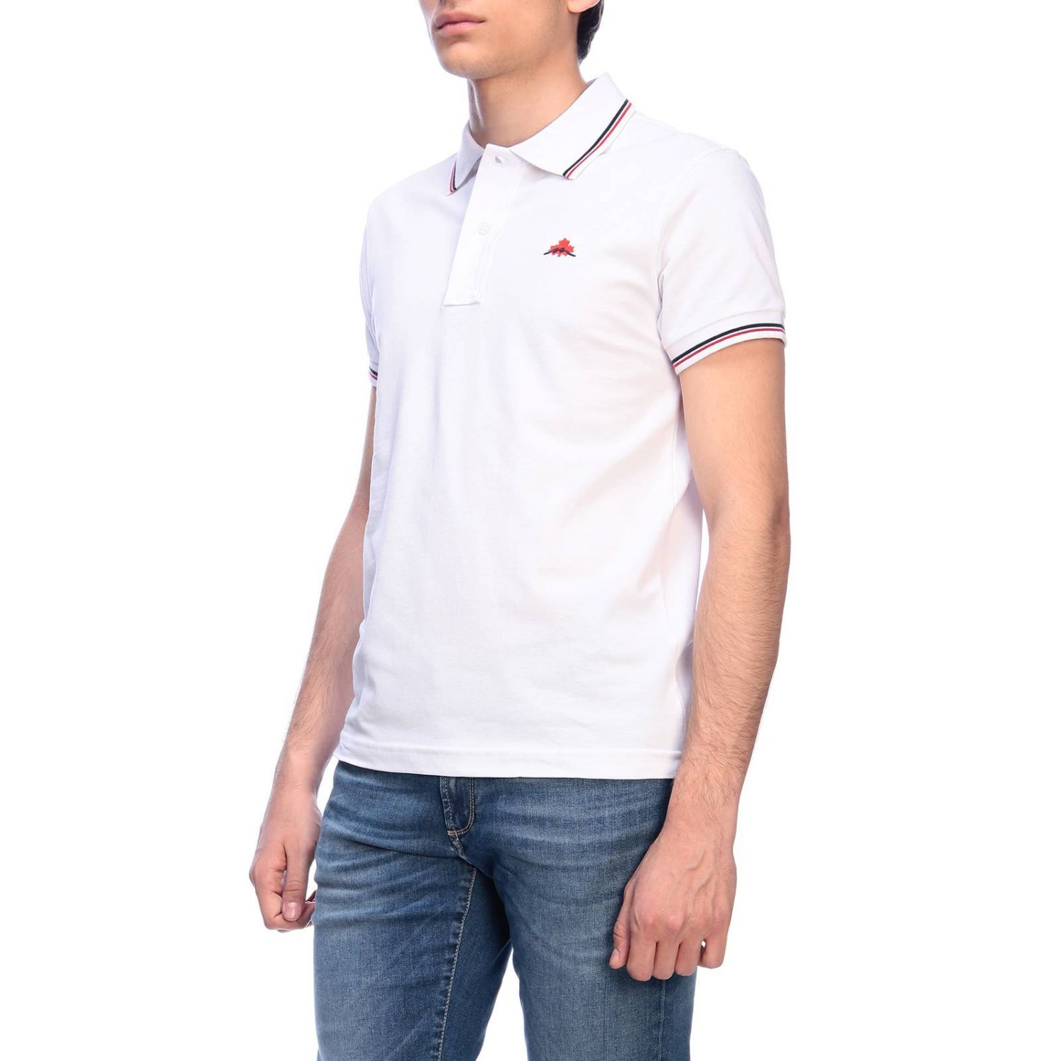 T-shirt men Museum white 2
