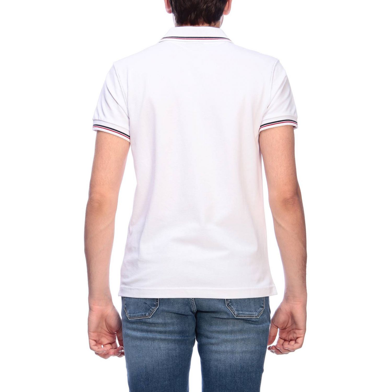 T-shirt men Museum white 3