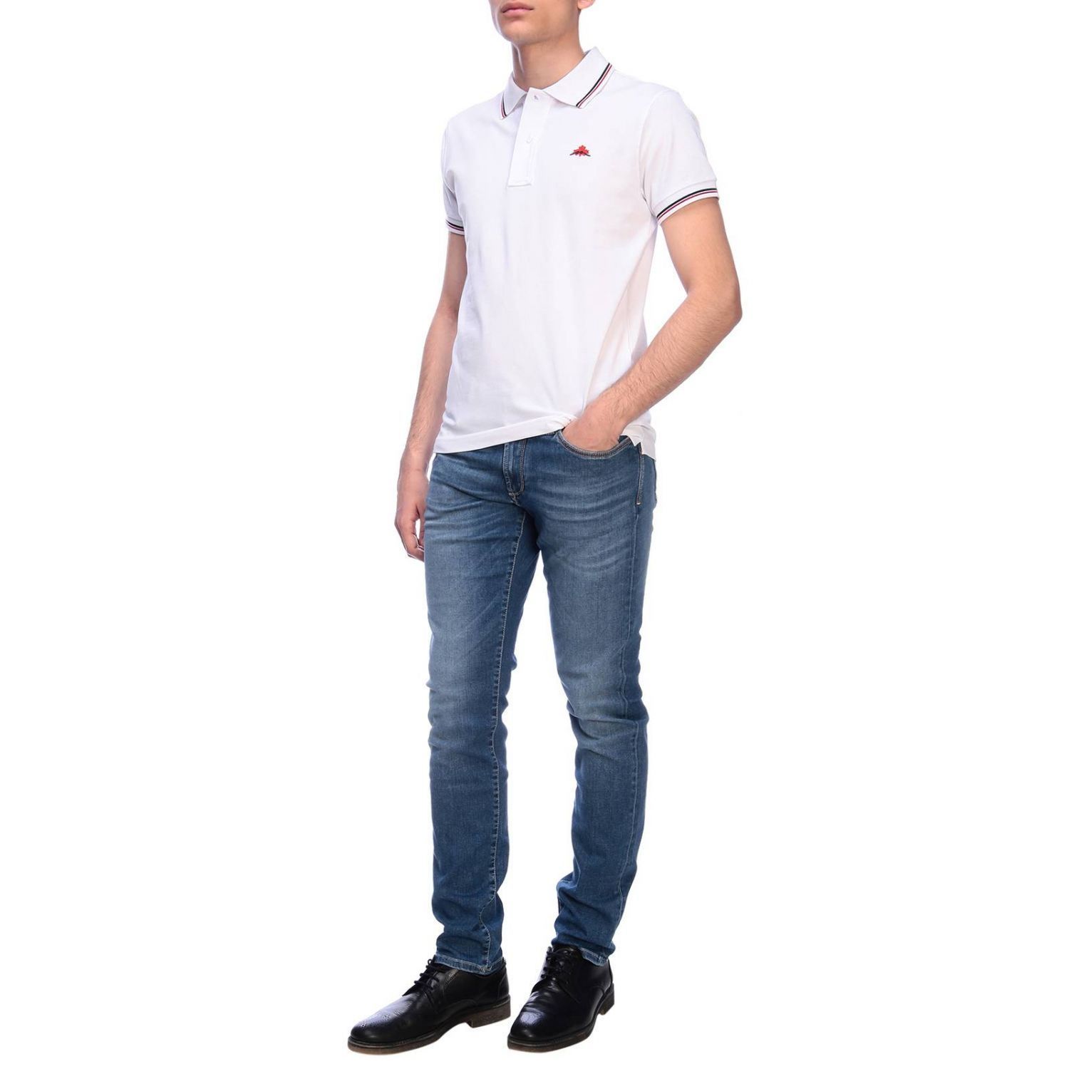 T-shirt men Museum white 4