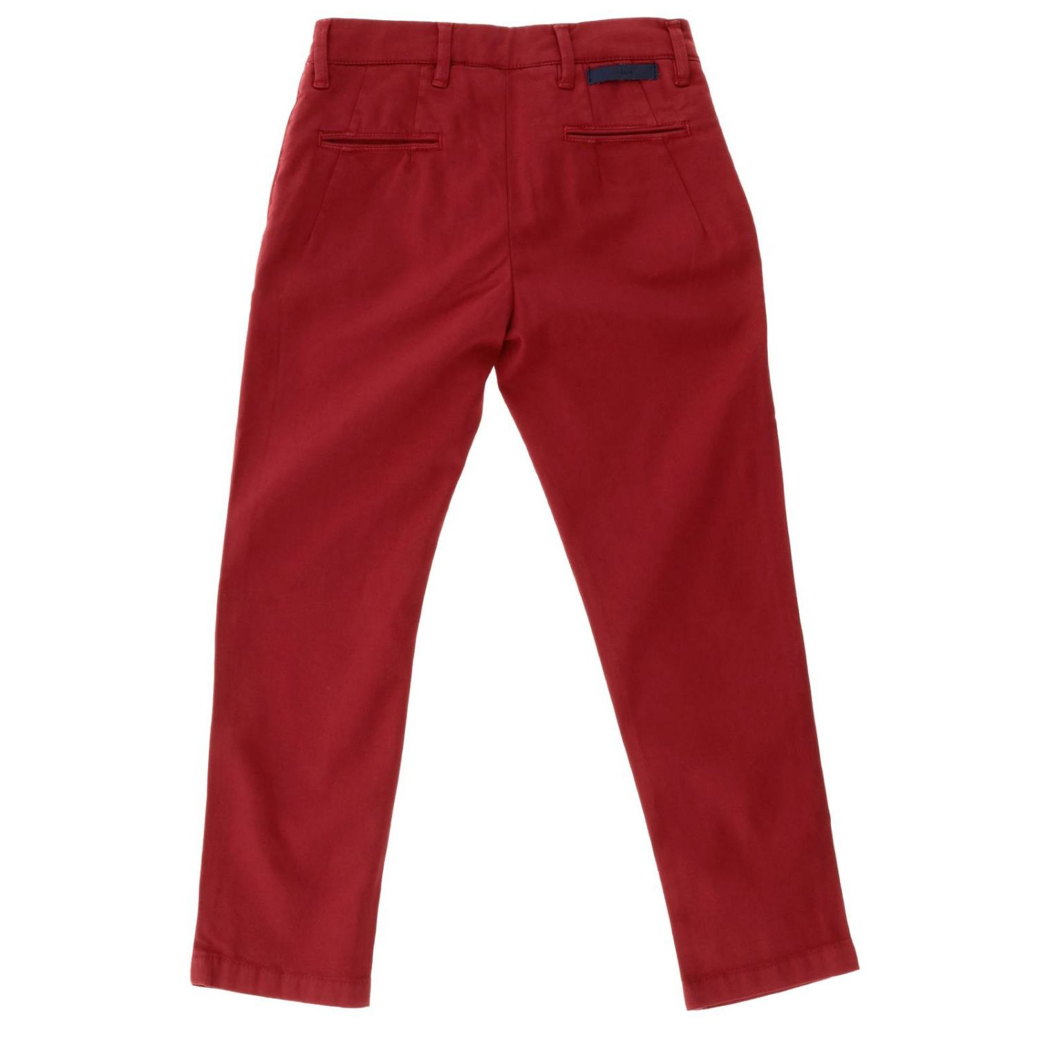 Trousers kids Siviglia red 2
