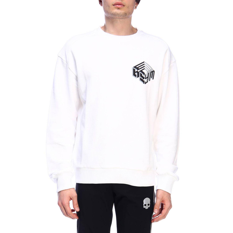 Pullover herren Geym weiß 1