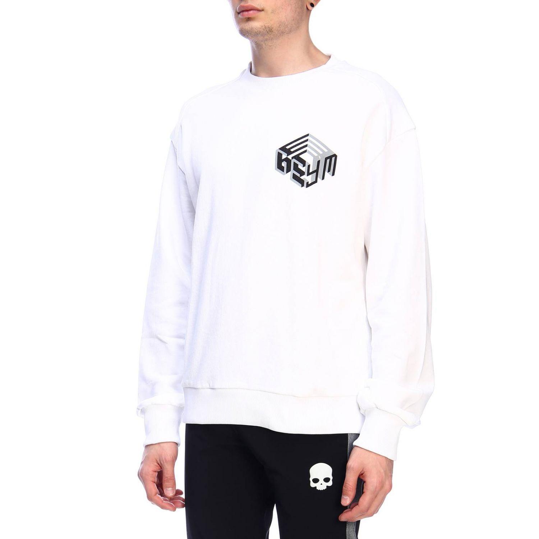 Pullover herren Geym weiß 2