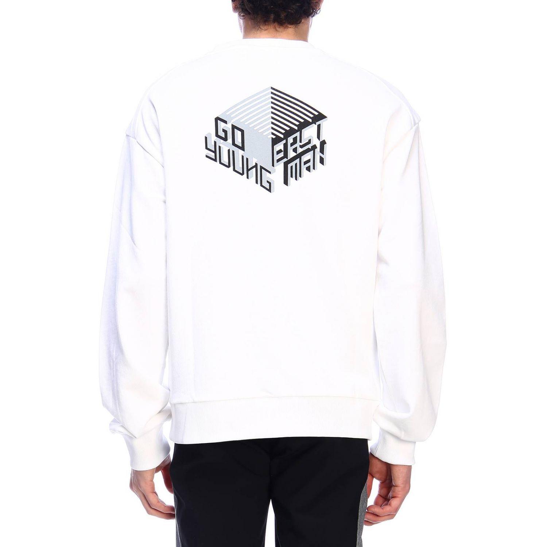 Pullover herren Geym weiß 3