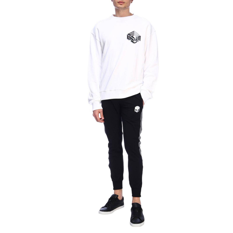 Pullover herren Geym weiß 4
