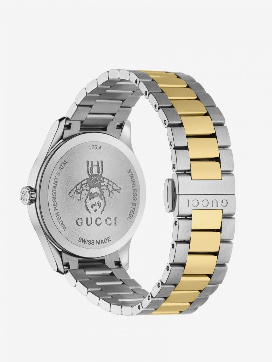 Watch women Gucci silver 2