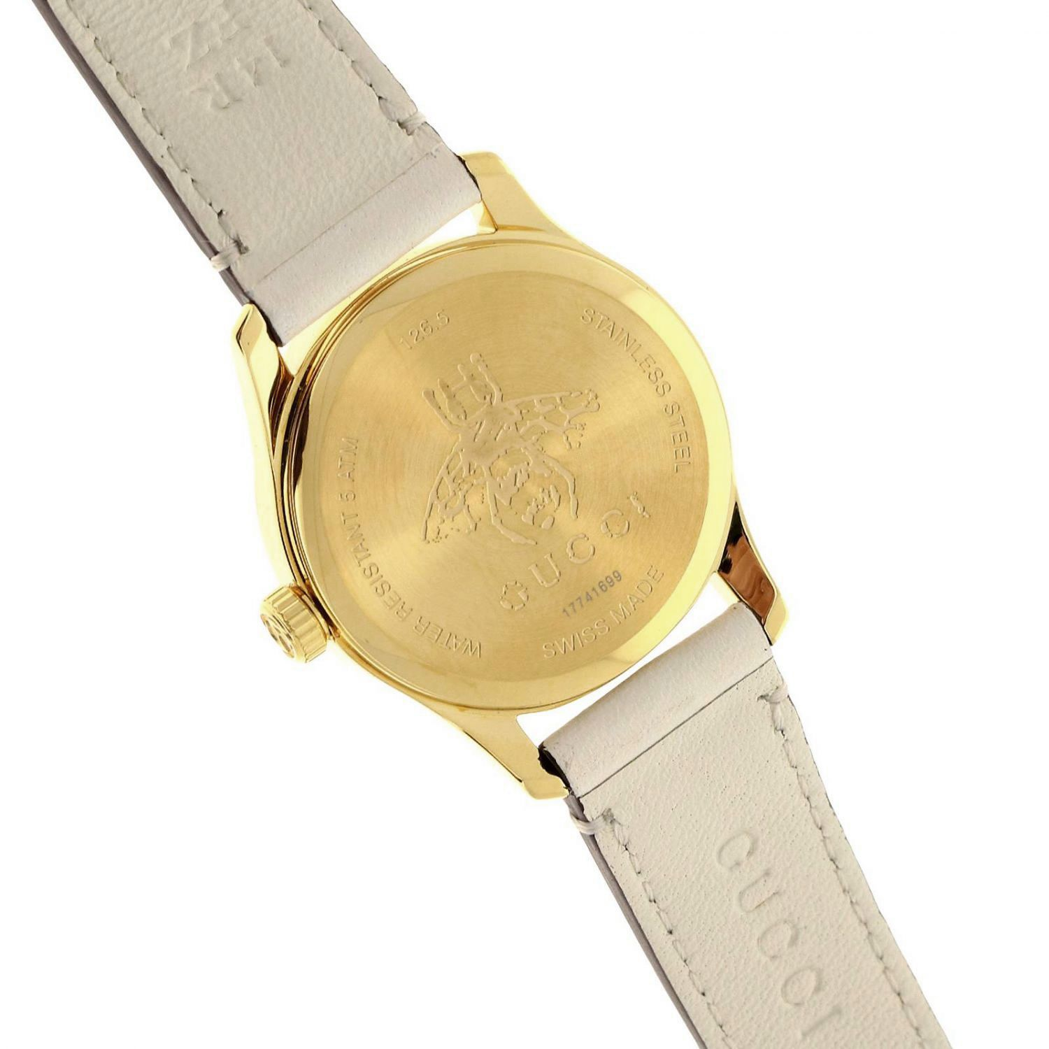 Watch Gucci: Watch women Gucci white 3