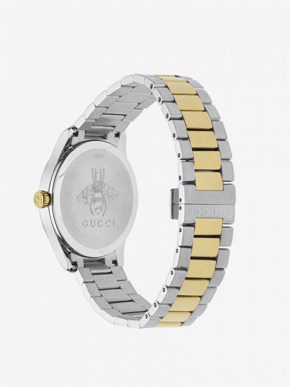 Orologio con cinturino in metallo by Gucci e cassa Sportiva argento 2