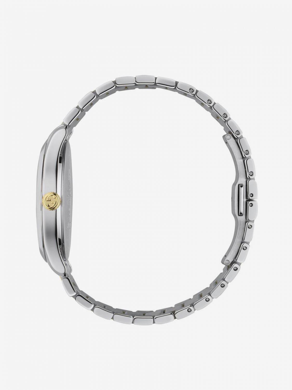 Orologio con cinturino in metallo by Gucci e cassa Sportiva argento 3