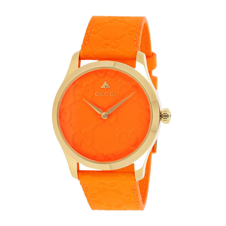 Watch Gucci: Watch women Gucci orange 1