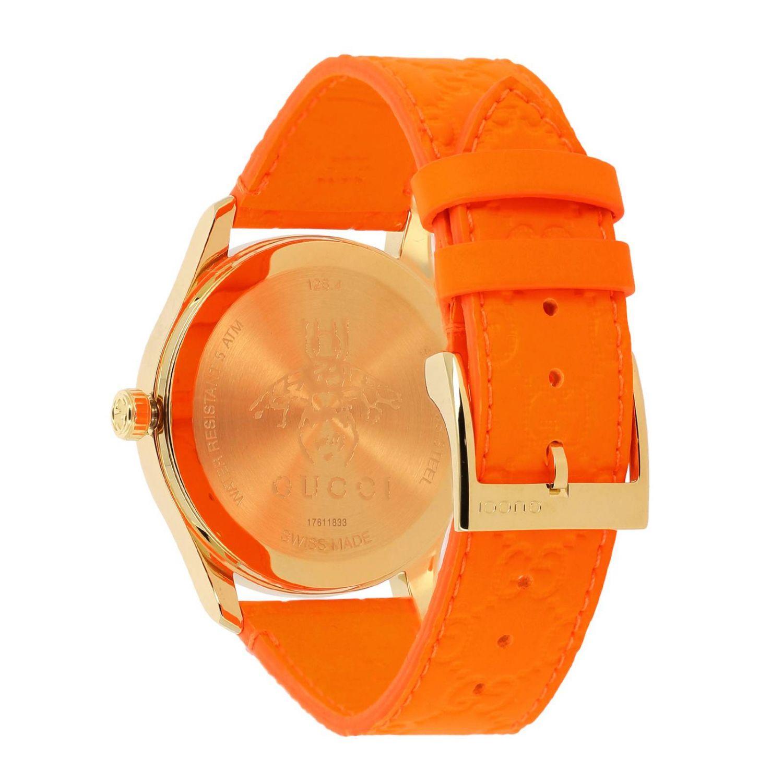 Watch Gucci: Watch women Gucci orange 2