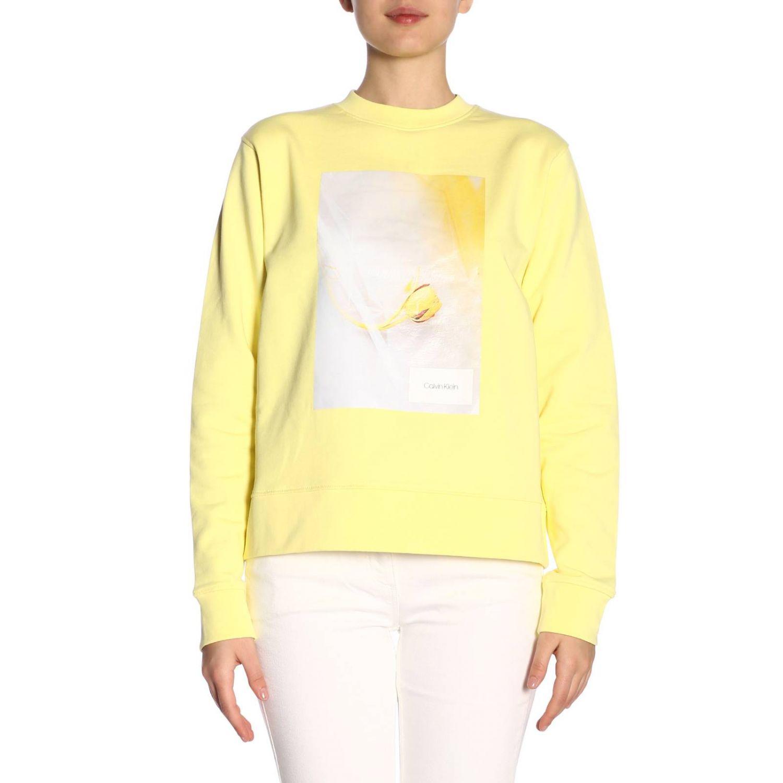 Jumper Calvin Klein: Jumper women Calvin Klein yellow 1