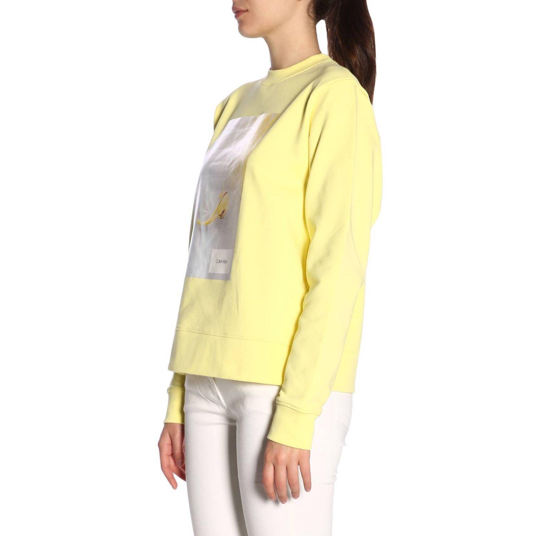 Jumper Calvin Klein: Jumper women Calvin Klein yellow 2