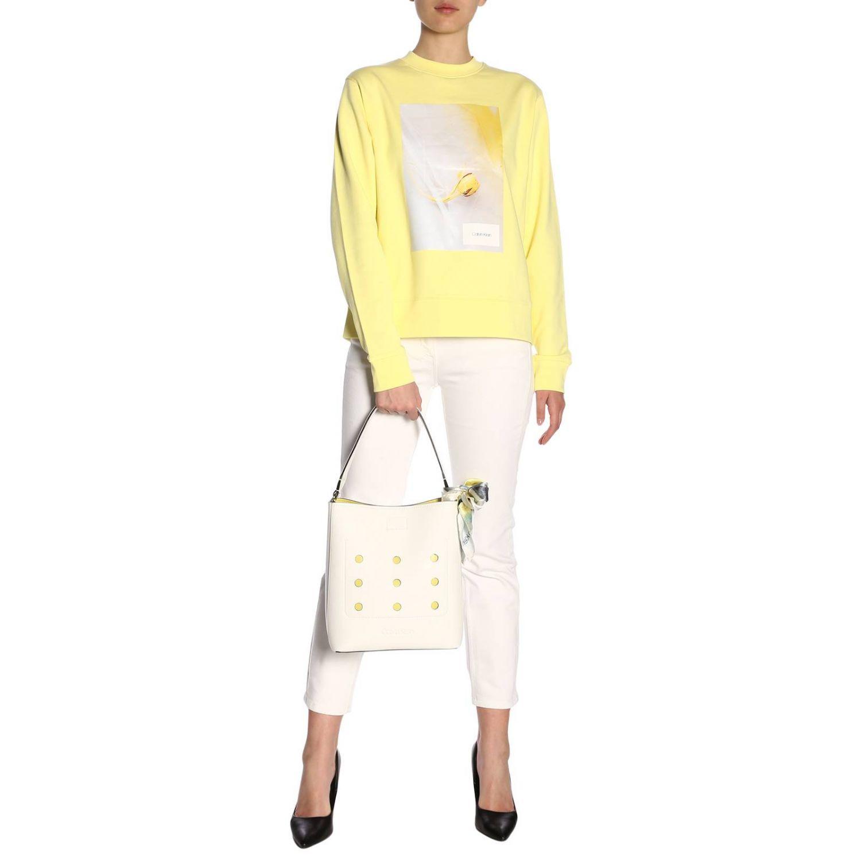 Jumper Calvin Klein: Jumper women Calvin Klein yellow 4