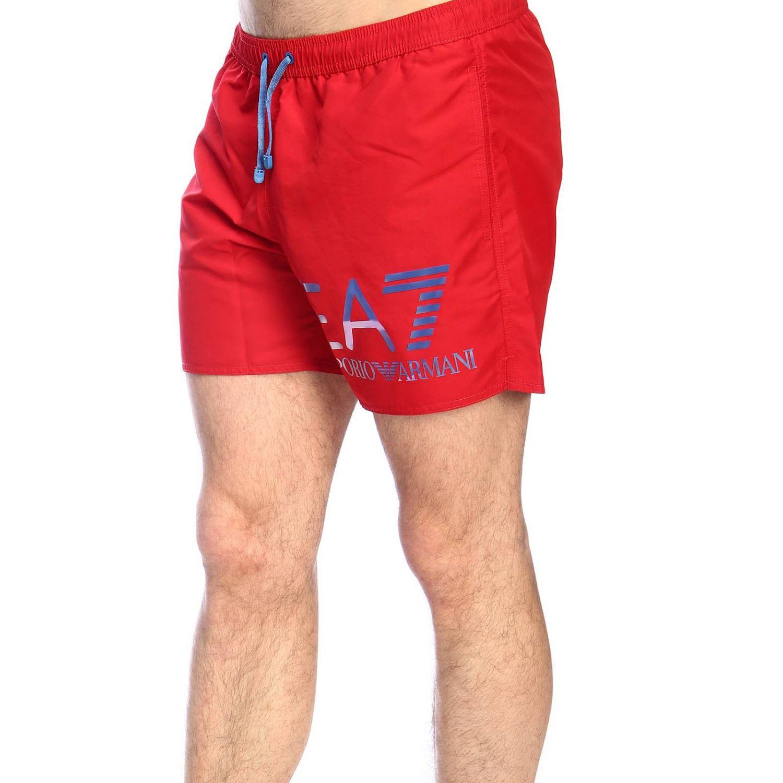 Maillot de bain Ea7 Swimwear: Maillot de bain homme Ea7 Swimwear rouge 2