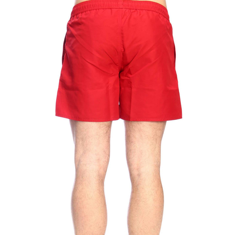 Maillot de bain Ea7 Swimwear: Maillot de bain homme Ea7 Swimwear rouge 3