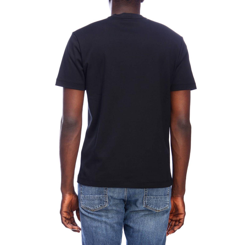 T-shirt men Giorgio Armani black 3