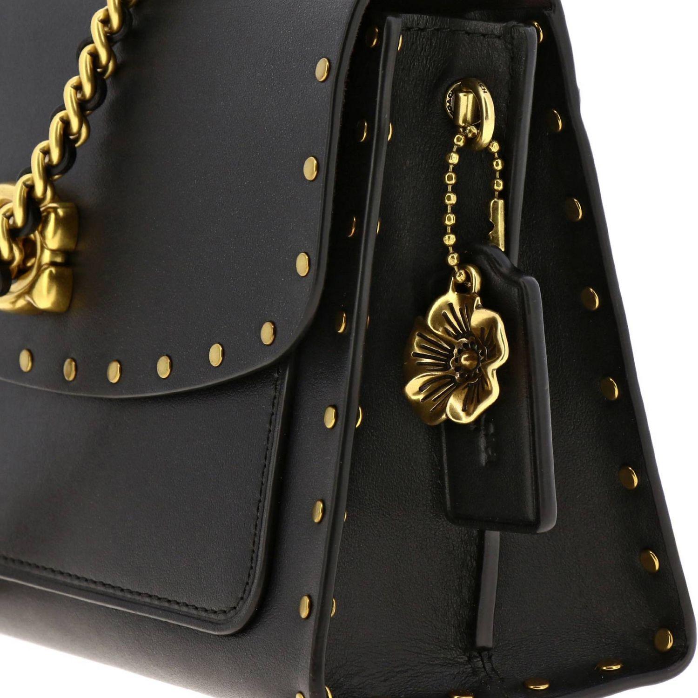 Mini bag Coach: Shoulder bag women Coach black 4