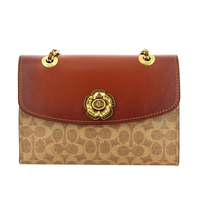 Shoulder bag women Coach leather 1