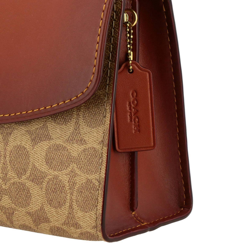 Shoulder bag women Coach leather 4