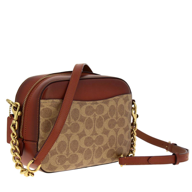 Shoulder bag women Coach leather 3