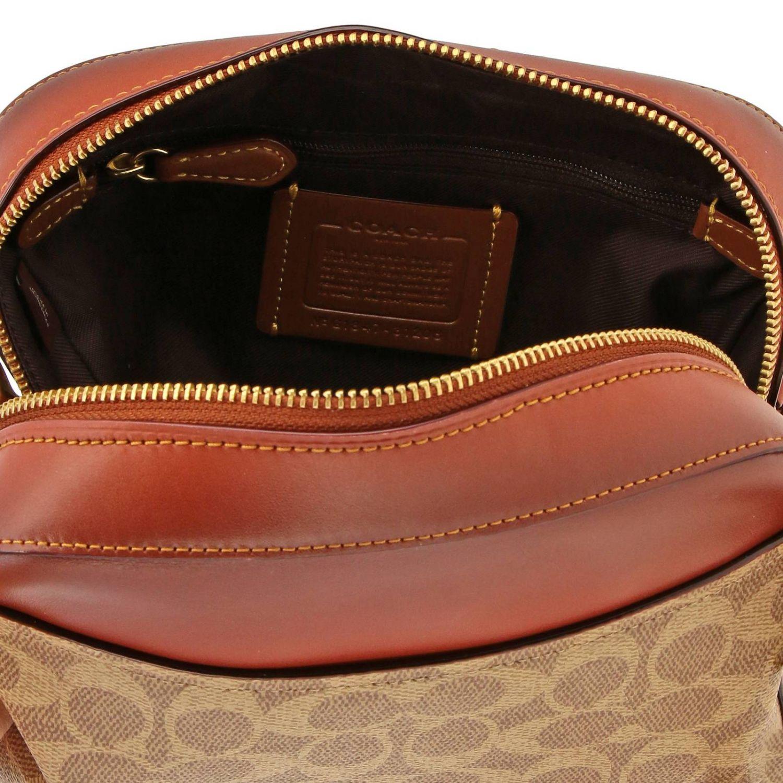 Shoulder bag women Coach leather 5