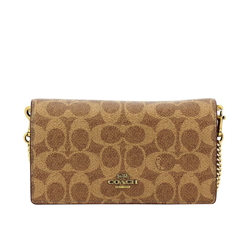 Mini bag Coach: Mini bag women Coach leather 1