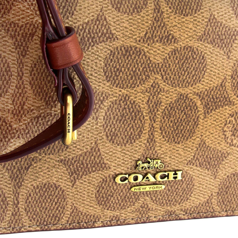 Mini bag Coach: Mini bag women Coach leather 5