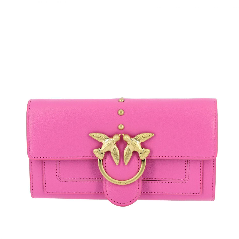 Wallet women Pinko fuchsia 1